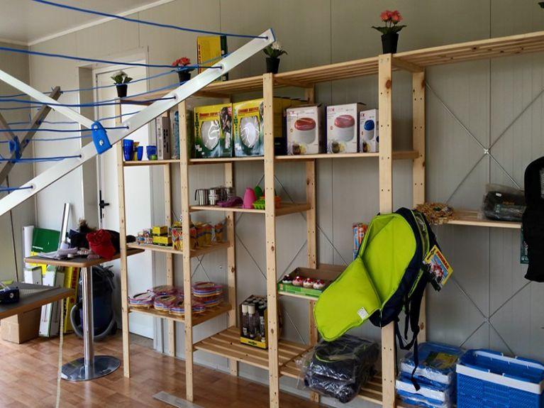 negozio accessori camper