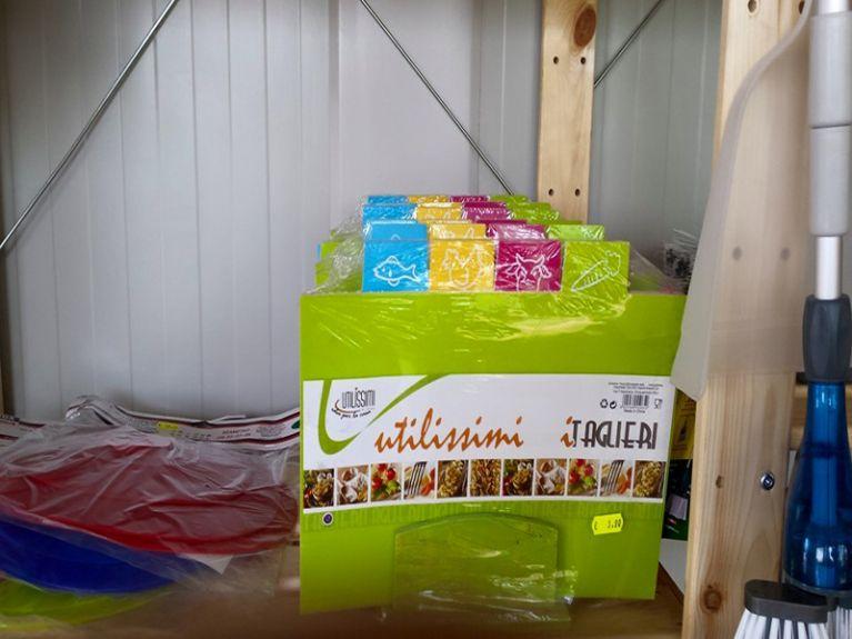 oggettistica camper cucina